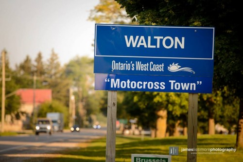walton road sign