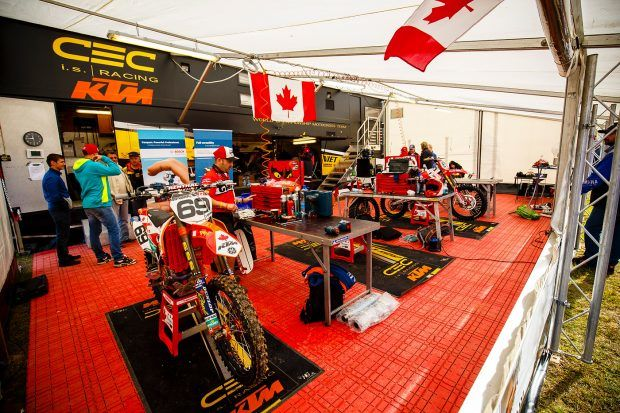 Everything was in place for Team Canada to break their MXoN record of an 8th overall. Unfortuantely, small mistakes held us back.